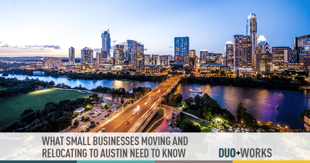 what small businesses moving and relocating to austin need to know